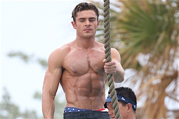 The Truth About The Zac Efron Baywatch Physique - OZ FIT LIFE